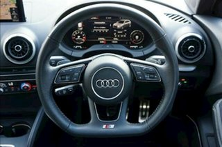 2018 Audi S3 8V MY18 Black Edition Sportback S Tronic Quattro Black 7 Speed