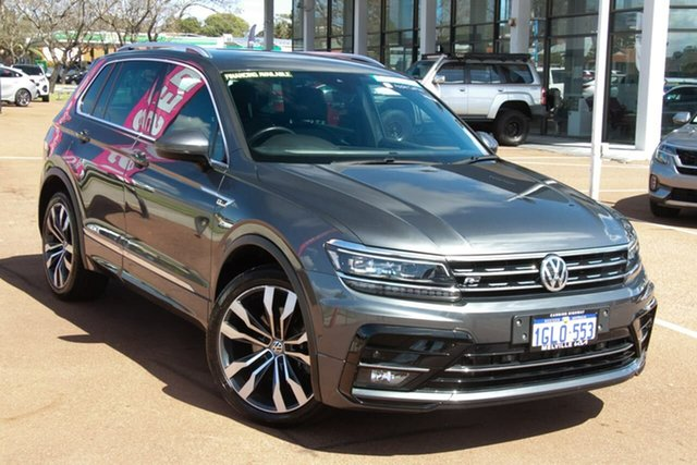 Used Volkswagen Tiguan 5N MY18 162TSI DSG 4MOTION Highline Attadale, 2018 Volkswagen Tiguan 5N MY18 162TSI DSG 4MOTION Highline Grey 7 Speed Sports Automatic Dual Clutch