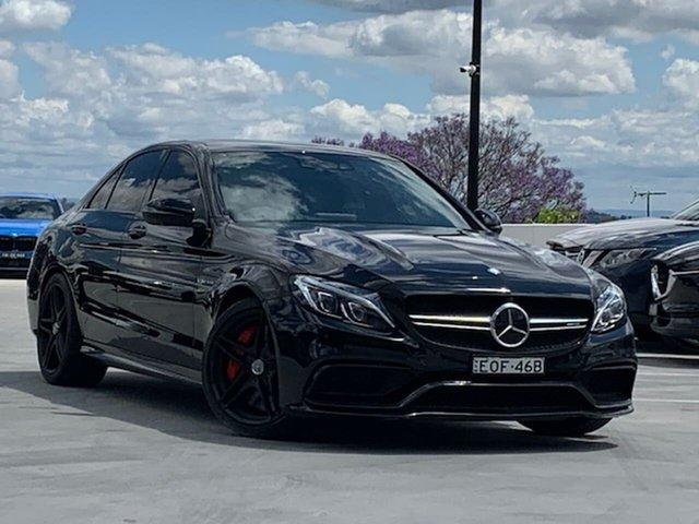 Used Mercedes-Benz C-Class W205 807MY C63 AMG SPEEDSHIFT MCT S Liverpool, 2016 Mercedes-Benz C-Class W205 807MY C63 AMG SPEEDSHIFT MCT S Grey 7 Speed Sports Automatic Sedan