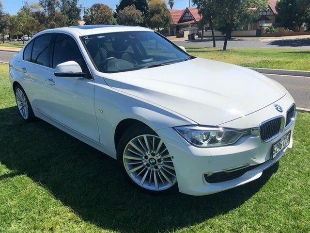 Used BMW 3 Series F30 LCI 320i Luxury Line Hindmarsh, 2015 BMW 3 Series F30 LCI 320i Luxury Line White 8 Speed Sports Automatic Sedan