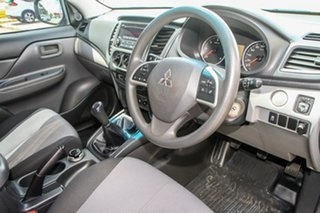 2016 Mitsubishi Triton MQ MY16 GLX Club Cab Silver 6 Speed Manual Cab Chassis