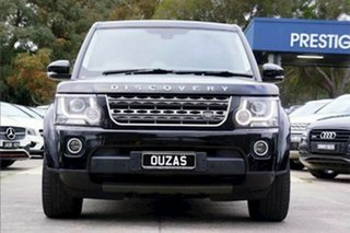 2015 Land Rover Discovery Series 4 L319 MY16 TDV6 Black 8 Speed Sports Automatic Wagon