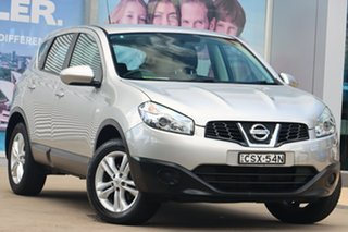 2013 Nissan Dualis J10 MY13 ST (4x2) Silver 6 Speed CVT Auto Sequential Wagon.