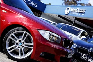 2013 BMW 1 Series E82 LCI MY1112 120i Steptronic Red 6 Speed Sports Automatic Coupe