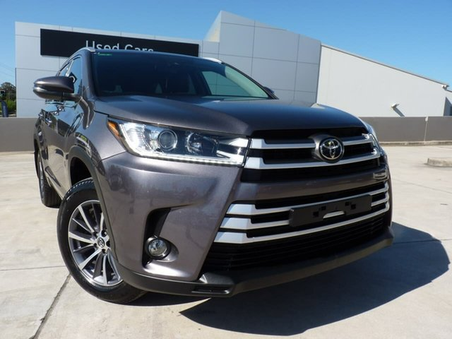 Pre-Owned Toyota Kluger GSU50R GXL 2WD Blacktown, 2019 Toyota Kluger GSU50R GXL 2WD Predawn Grey 8 Speed Sports Automatic Wagon