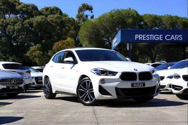 Used BMW X2 F39 sDrive18i Coupe DCT M Sport Balwyn, 2019 BMW X2 F39 sDrive18i Coupe DCT M Sport White 7 Speed Sports Automatic Dual Clutch Wagon