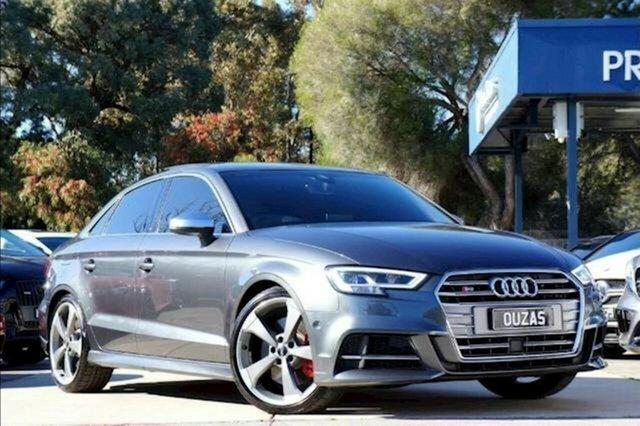 Used Audi S3 8V MY20 S Tronic Quattro Balwyn, 2020 Audi S3 8V MY20 S Tronic Quattro Grey 7 Speed Sports Automatic Dual Clutch Sedan
