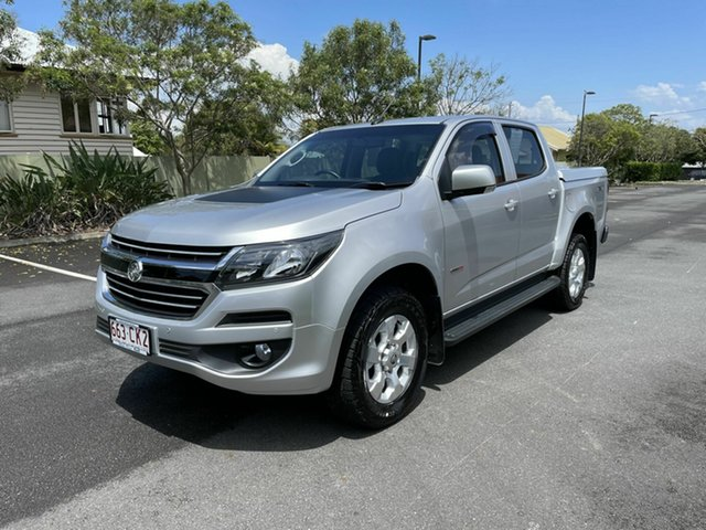 Used Holden Colorado RG MY19 LT Chermside, 2018 Holden Colorado RG MY19 LT Silver 6 Speed Automatic Dual Cab