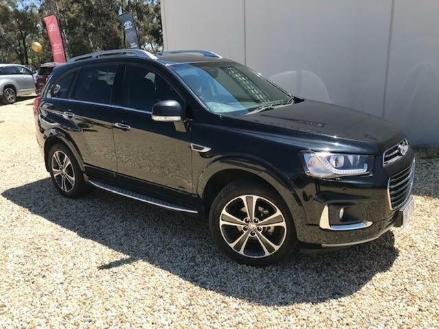 Used Holden Captiva CG MY15 7 LTZ (AWD) Wangaratta, 2016 Holden Captiva CG MY15 7 LTZ (AWD) Black 6 Speed Automatic Wagon