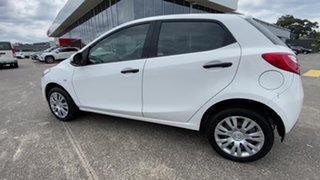2010 Mazda 2 DE10Y1 Neo White 4 Speed Automatic Hatchback.