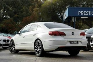 2014 Volkswagen CC Type 3CC MY14 130TDI DSG White 6 Speed Sports Automatic Dual Clutch Coupe
