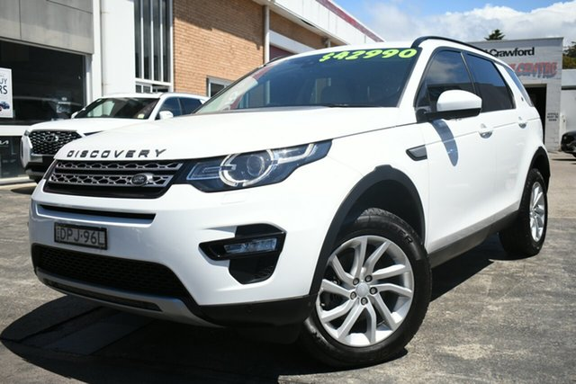 Used Land Rover Discovery Sport LC MY17 TD4 180 HSE 5 Seat Narrabeen, 2017 Land Rover Discovery Sport LC MY17 TD4 180 HSE 5 Seat White 9 Speed Automatic Wagon