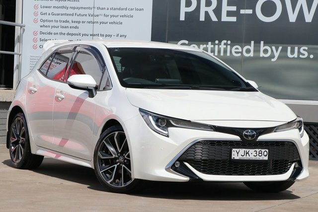 Pre-Owned Toyota Corolla Mzea12R ZR Guildford, 2019 Toyota Corolla Mzea12R ZR Crystal Pearl 10 Speed Constant Variable Hatchback