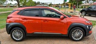 2017 Hyundai Kona OS MY18 Elite 2WD Orange 6 Speed Sports Automatic Wagon