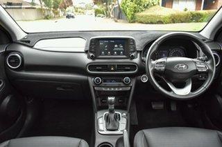 2017 Hyundai Kona OS MY18 Elite 2WD Orange 6 Speed Sports Automatic Wagon.