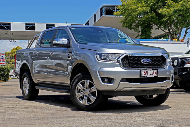 Used Ford Ranger PX MkIII 2021.25MY XLT Capalaba, 2021 Ford Ranger PX MkIII 2021.25MY XLT Silver 6 Speed Sports Automatic Double Cab Pick Up