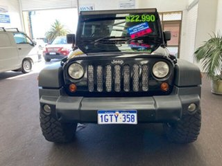 2009 Jeep Wrangler JK MY2010 Unlimited Sport Black 4 Speed Automatic Softtop