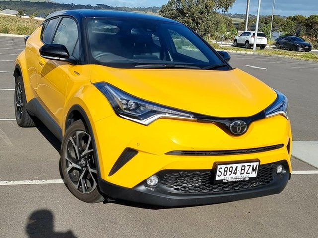 Used Toyota C-HR NGX10R Koba S-CVT 2WD Victor Harbor, 2019 Toyota C-HR NGX10R Koba S-CVT 2WD Yellow 7 Speed Constant Variable Wagon