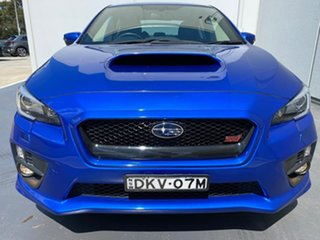 2016 Subaru WRX V1 MY17 AWD Blue 6 Speed Manual Sedan.