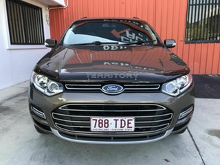 2011 Ford Territory SZ Titanium Seq Sport Shift AWD Gold 6 Speed Sports Automatic Wagon.