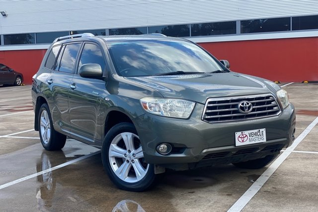 Used Toyota Kluger Morayfield, 2008 Toyota Kluger GRANDE Grey 5 Speed Auto Active Select Wagon