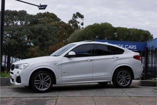 2015 BMW X4 F26 xDrive20d Coupe Steptronic White 8 Speed Automatic Wagon
