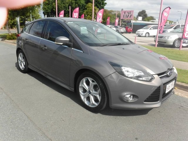 Used Ford Focus LW MkII Sport Margate, 2012 Ford Focus LW MkII Sport Brown 6 Speed PowerShift Hatchback
