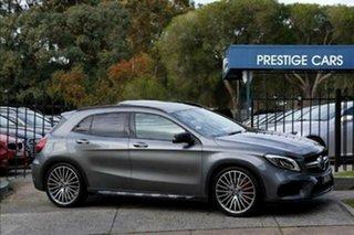 2017 Mercedes-Benz GLA-Class X156 808MY GLA45 AMG SPEEDSHIFT DCT 4MATIC Grey 7 Speed.