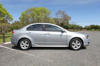 2007 Mitsubishi Lancer CJ MY08 VR Silver 6 Speed Constant Variable Sedan.