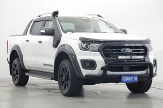 2019 Ford Ranger PX MkIII 2019.75MY Wildtrak Arctic White 10 Speed Sports Automatic