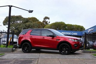 2017 Land Rover Discovery Sport L550 17MY HSE Red 9 Speed Sports Automatic Wagon