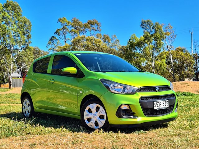 Used Holden Spark MP MY16 LS St Marys, 2016 Holden Spark MP MY16 LS Green 1 Speed Constant Variable Hatchback