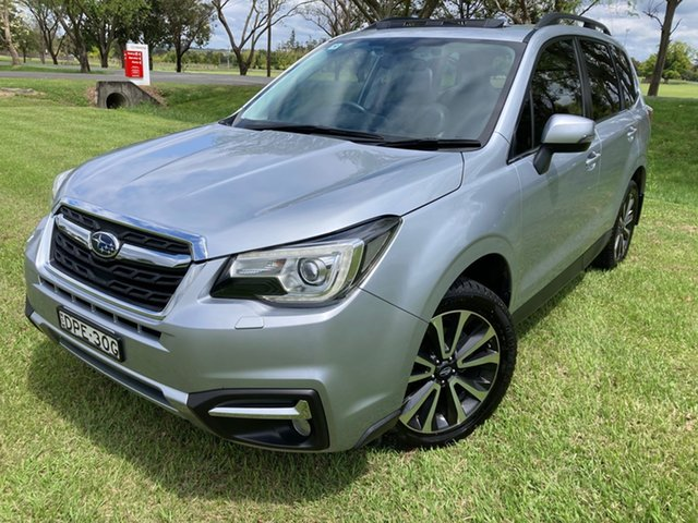 Used Subaru Forester MY17 2.5I-S South Grafton, 2016 Subaru Forester MY17 2.5I-S Ice Silver Continuous Variable Wagon
