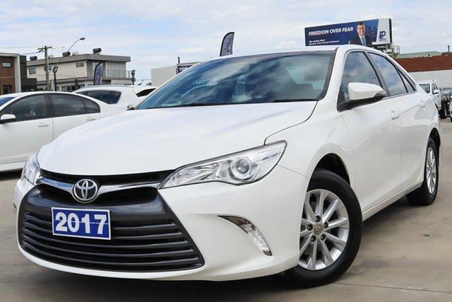 Used Toyota Camry ASV50R Altise Coburg North, 2017 Toyota Camry ASV50R Altise White 6 Speed Sports Automatic Sedan