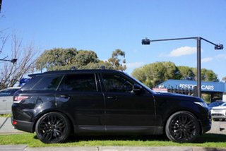 2016 Land Rover Range Rover Sport L494 16.5MY HSE Black 8 Speed Sports Automatic Wagon.