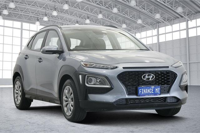 Used Hyundai Kona OS.3 MY20 Active 2WD Victoria Park, 2020 Hyundai Kona OS.3 MY20 Active 2WD Silver 6 Speed Sports Automatic Wagon
