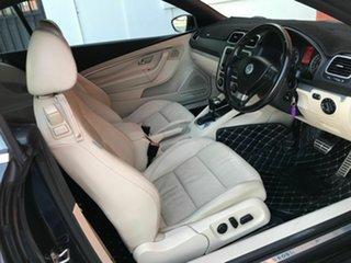 2009 Volkswagen EOS 1F MY09 147TSI DSG Black 6 Speed Sports Automatic Dual Clutch Convertible