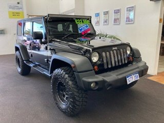 2009 Jeep Wrangler JK MY2010 Unlimited Sport Black 4 Speed Automatic Softtop.