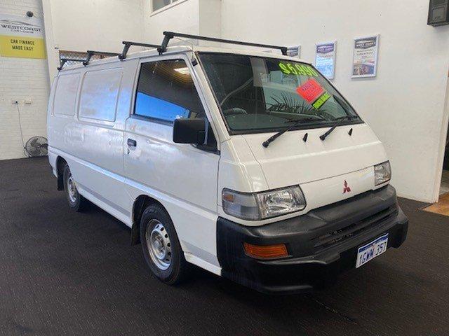 Used Mitsubishi Express SJ SWB Wangara, 2002 Mitsubishi Express SJ SWB White 5 Speed Manual Van