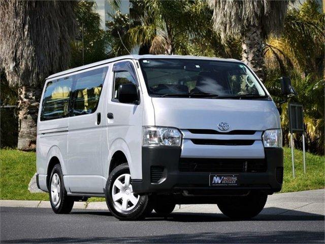 Used Toyota HiAce Braeside, 2015 Toyota HiAce KDH206V DC Silver 4 Speed Automatic Van