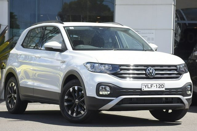 Used Volkswagen T-Cross C1 MY21 85TSI DSG FWD Life Sutherland, 2021 Volkswagen T-Cross C1 MY21 85TSI DSG FWD Life White 7 Speed Sports Automatic Dual Clutch Wagon