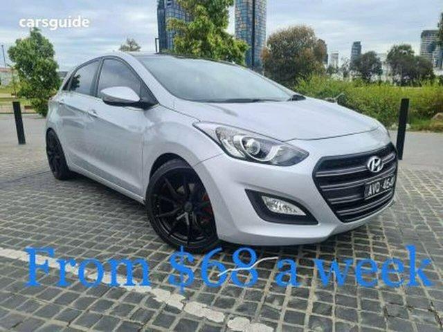 Used Hyundai i30 GD MY14 Elite South Melbourne, 2014 Hyundai i30 GD MY14 Elite Silver 6 Speed Sports Automatic Hatchback