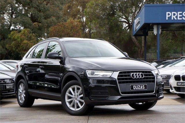 Used Audi Q3 8U MY18 TFSI S Tronic Balwyn, 2017 Audi Q3 8U MY18 TFSI S Tronic Black 6 Speed Sports Automatic Dual Clutch Wagon