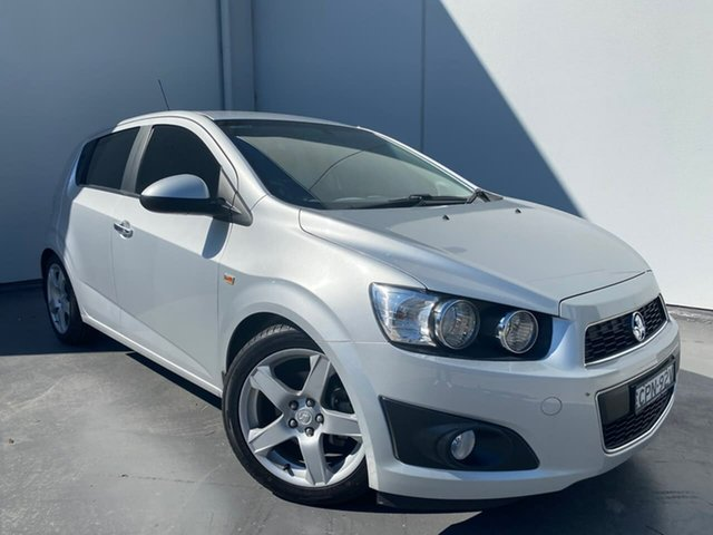 Used Holden Barina TM MY13 CDX Liverpool, 2013 Holden Barina TM MY13 CDX Silver 6 Speed Automatic Hatchback
