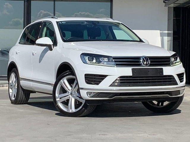 Used Volkswagen Touareg 7P MY17 150TDI Tiptronic 4MOTION Element Liverpool, 2017 Volkswagen Touareg 7P MY17 150TDI Tiptronic 4MOTION Element White 8 Speed Sports Automatic