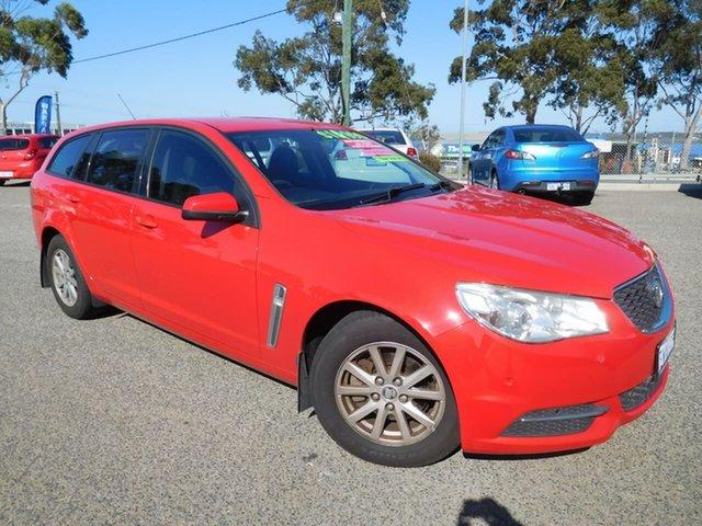 Used Holden Commodore VF MY14 Evoke Sportwagon Wangara, 2013 Holden Commodore VF MY14 Evoke Sportwagon Red 6 Speed Sports Automatic Wagon