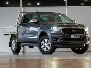 2020 Ford Ranger PX MkIII 2021.25MY XLT Double Cab Meteor Grey 6 Speed Sports Automatic.