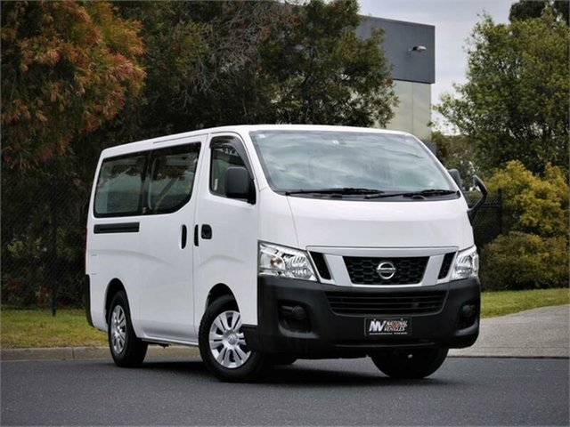 Used Nissan Caravan DX Braeside, 2014 Nissan Caravan NV350 DX White Automatic Van