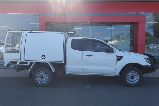 Used Ford Ranger PX XL Swan Hill, 2014 Ford Ranger PX XL 6 Speed Manual Cab Chassis