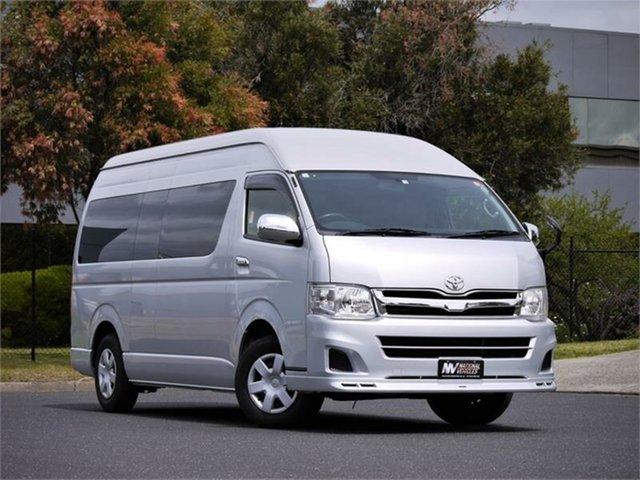 Used Toyota HiAce DX Braeside, 2012 Toyota HiAce KDH221K DX Silver 5 Speed Automatic Van